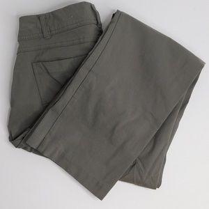 JM Collection Lunar Grey Curvy Fit Pants/ Size 10